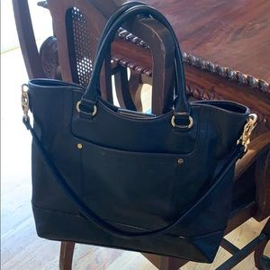 🖤 TIGNANELLO black leather tote!